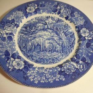 Jonroth England Pottery Souvenir Plate Luray VA